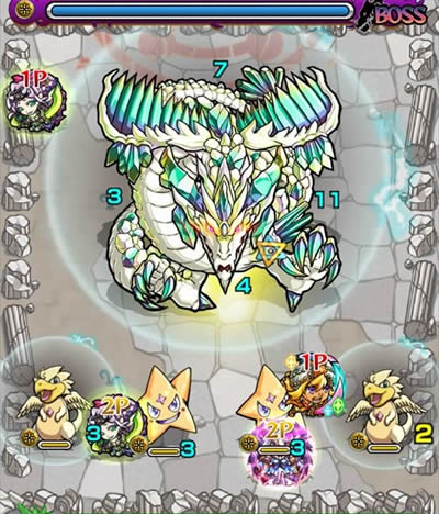 エメラルドドラゴン降臨「究極」攻略/バトル5