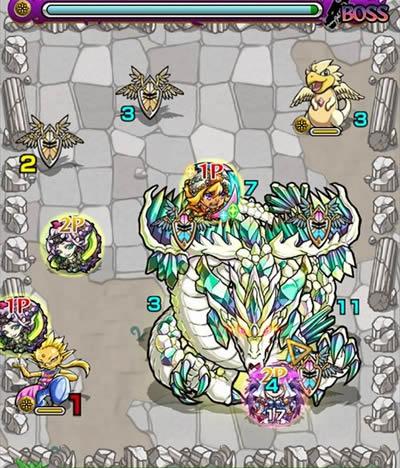 エメラルドドラゴン降臨「究極」攻略/バトル6
