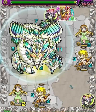 エメラルドドラゴン降臨「究極」攻略/バトル7