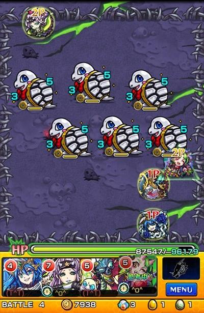 銀月の騎士/バトル4